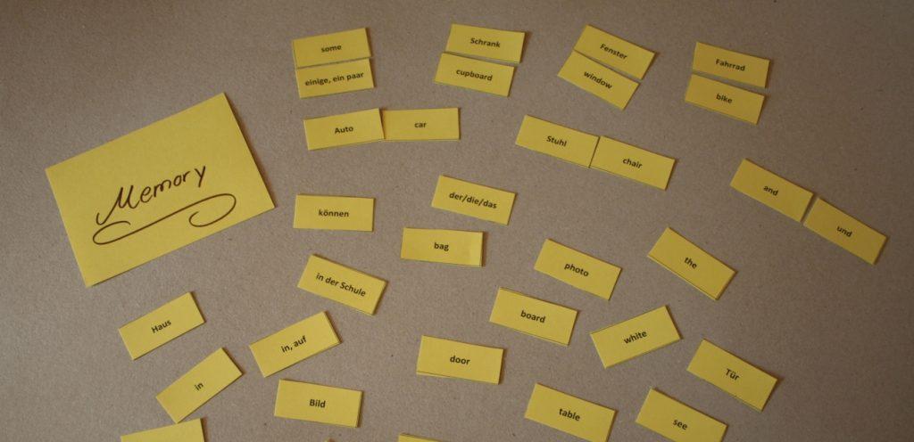 Wortschatz lernen mit Spielen
