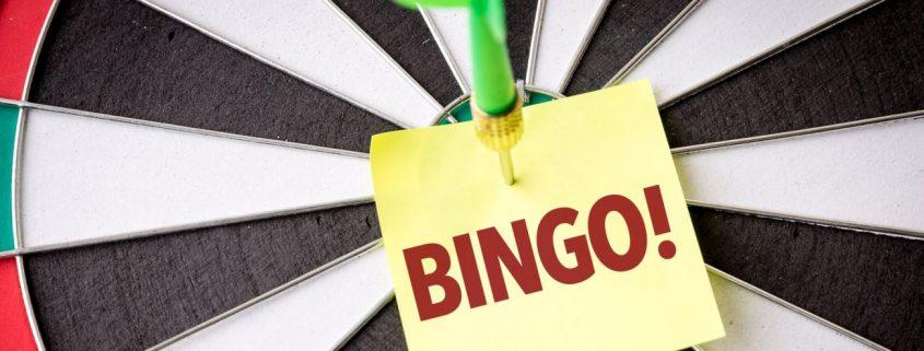 Bingo your words!