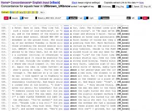 Listen oder hear? Der Vergleich veranschaulicht die unterschiedliche Bedeutung der Wörter. (Screenshot von lextutor.ca)