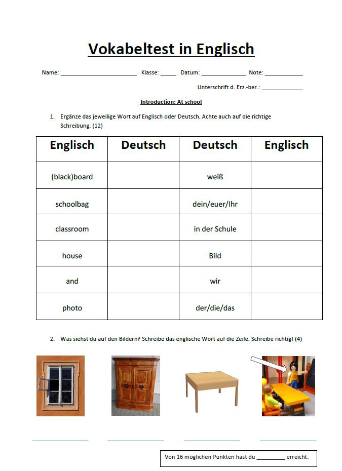 Vokabeltests sinn oder unsinn wortschatz blog for Englisch auf deutsch ubersetzen