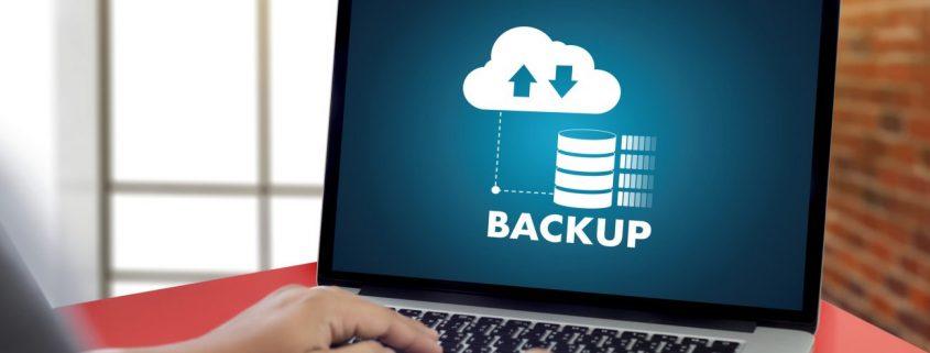 Cloud Backup. zwei Metaphern aus dem Bereich Computer