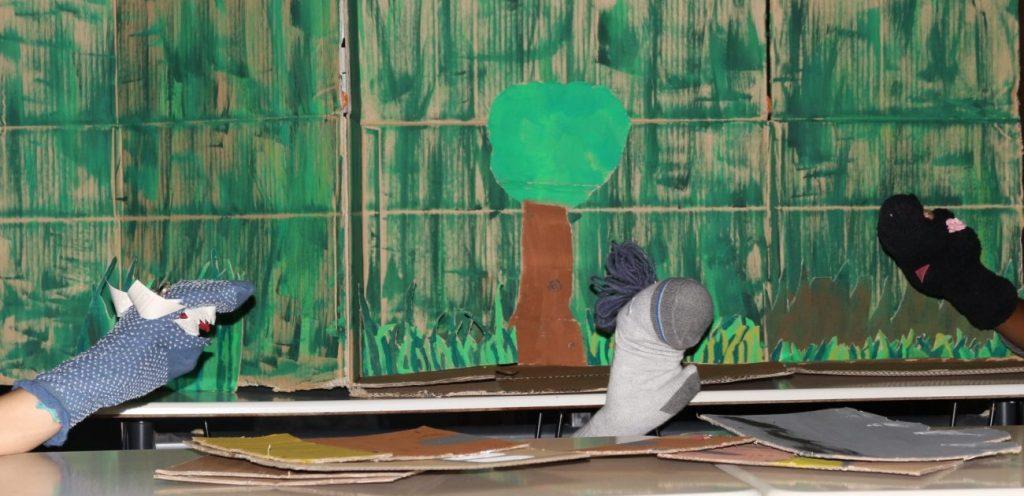 Das Dschungelbuch mit Sockenpuppen