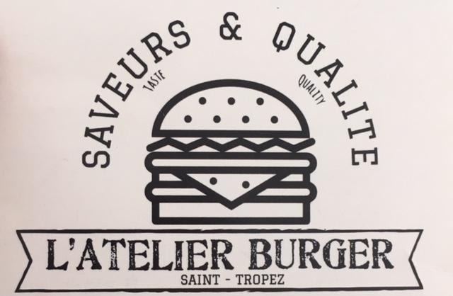 Schild des Burger-Restaurants Saveurs & Qualité