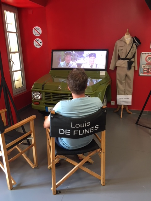 Die berühmten Gendarm-Filme mit Louis de Funès dürfen im Museum in St. Tropez natürlich nicht fehlen
