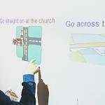 Am Smartboard Wort und Bild kombinieren