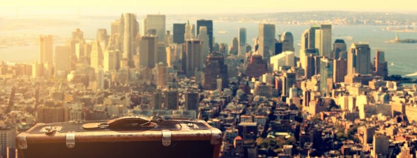 New York – eine gute Stadt, um am eigenen Wortschatz zu arbeiten.