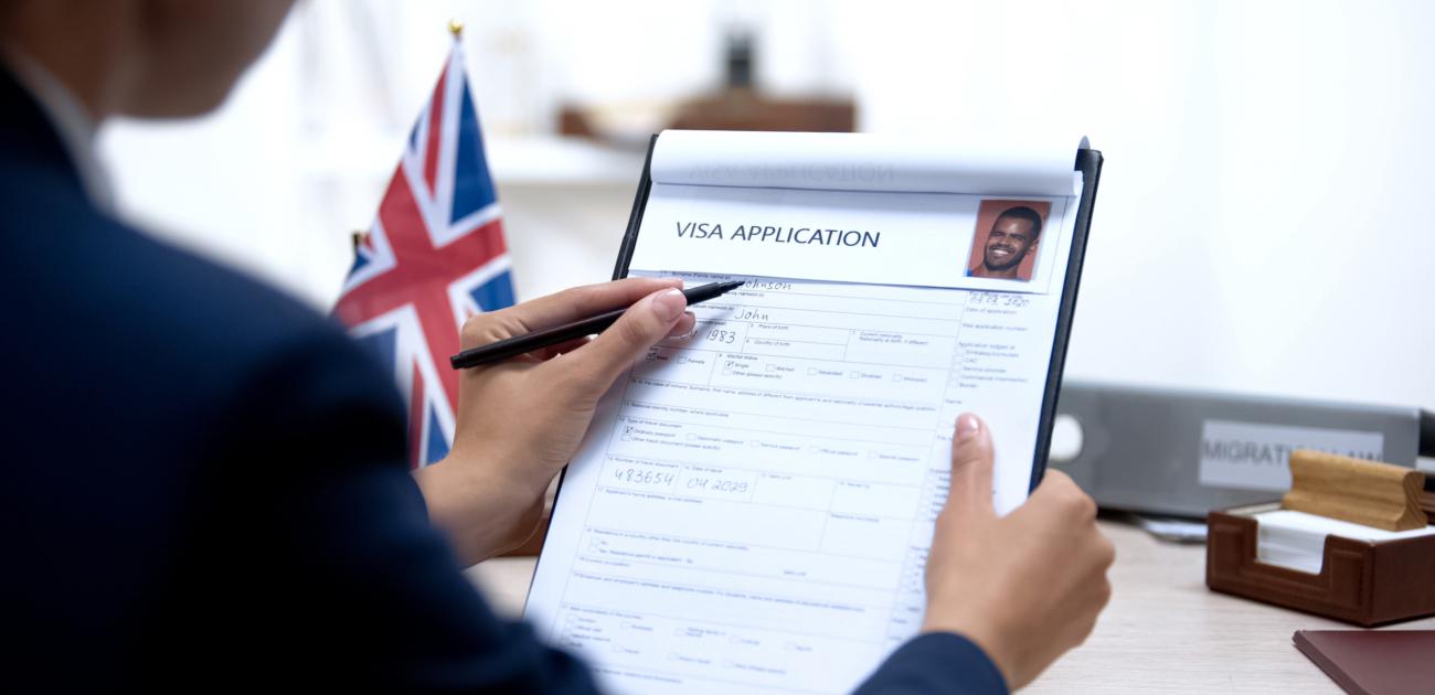 Visumsantrag zur Einreise nach Großbritannien